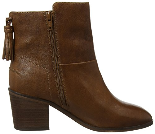 tan Bottines Tassle Brn Fat Emily Face Femme Marron nHaZTqOw4