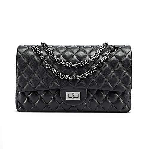 Quilted Handbags Classic Crossbody Fashion Handbag Sheepskin Shoulder Bag Purse