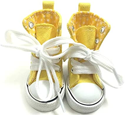 Studio one Canvas 6CM Doll Yellow Shoes