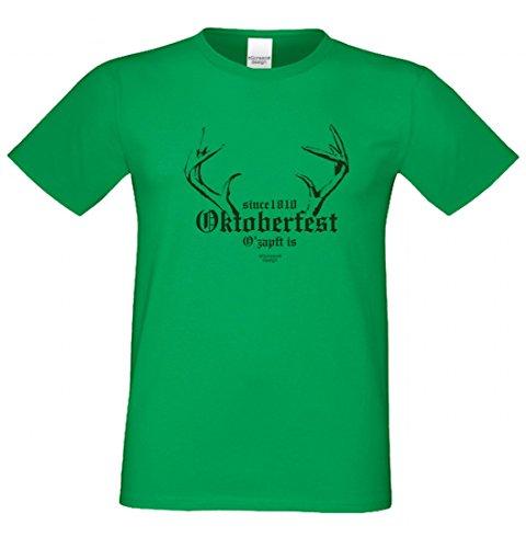Wiesn T-Shirt statt Tracht & Dirndl - Since 1810 Oktoberfest - Lustiges Spruchshirt als Geschenk zum Volksfest sw8
