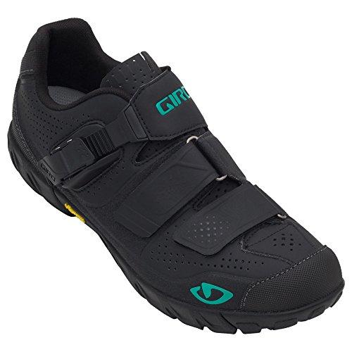 Giro Terradura Damen MTB Fahrrad Schuhe schwarz/grün 2016: Größe: 39.5