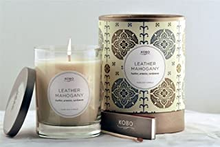 product image for Kobo Soy Candle - Leather Mahogony