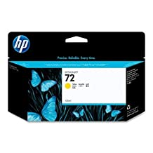 HP 72 Ink Cartridge, 130ml, Yellow [Electronics]