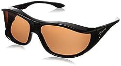 Vistana Polarized Jeweled Fitover Large Sunglasses