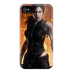 Scratch Resistant Cell-phone Hard Covers For Iphone 6plus (AFg18947hYtk) Provide Private Custom Beautiful Tomb Raider Pattern