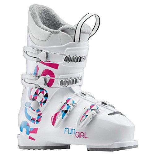 로시뇰(Rossignol)(로시뇰(Rossignol)) RBG5080 FUN GIRL J4WHITE 키즈 쥬니어 스키화