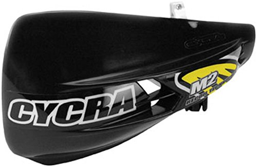 Cycra M-2 Recoil Non-Vented Racer Pack Black (Handguard Vented Pack Racer)