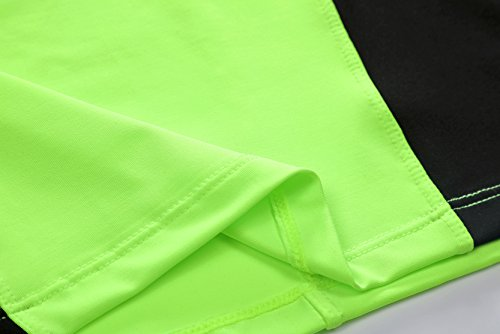 AIRAVATA Men's Sports Cool Dry Compression T Shirt Jogger Shorts Tracksuits