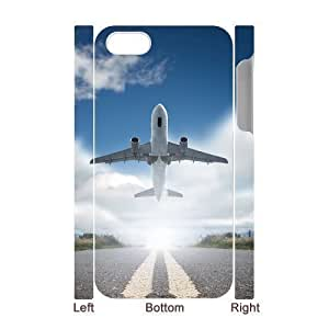 3D Bumper Plastic Case Of Airplane customized case For Iphone 4/4s