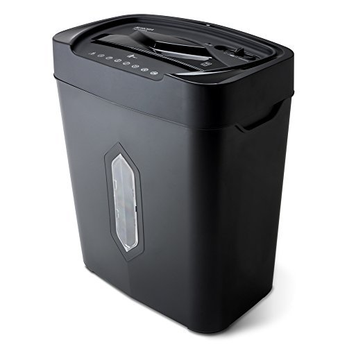 - Aurora AU1220XA 12 Sheet Crosscut Paper and Credit Card Shredder with 5.2 gal Wastebasket