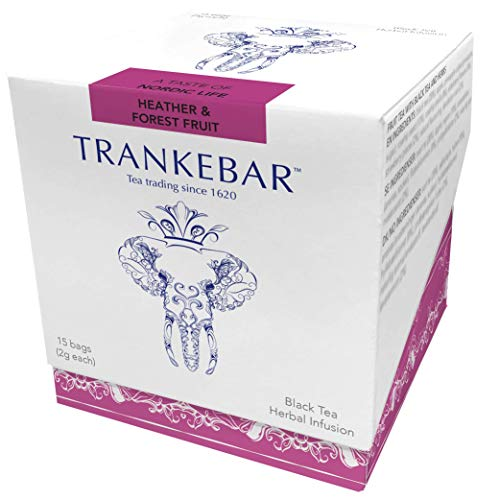 Forest Heather - Trankebar Black Tea Herbal Infusion (Heather & Forest Fruit, 1 pack of 15 tea bags) Premium Specialty Tea Made With Quality Ingredients