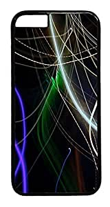 ACESR Abstract Line iPhone 5 5s Hard Case PC - Black, Back Cover Case for Apple iPhone 5 5s