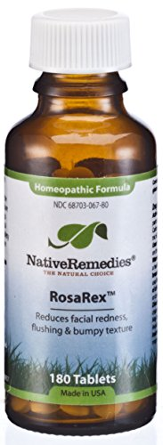 Facial Redness Remedy - Native Remedies Rosarex To Temporarily Reduce Facial Redness And Flushing (180 Tablets)