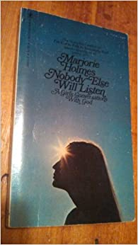 Book Nobody Else Will Listen: a Girl's Conversations with God