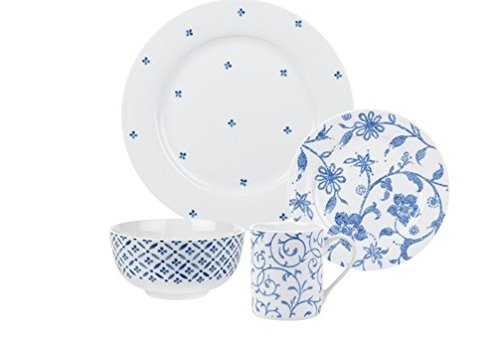 Spode Blue Indigo - 16 Piece Set