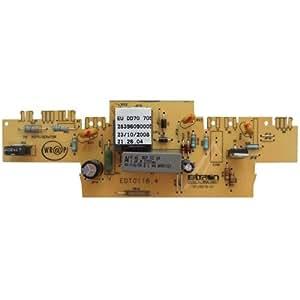 Detalles Sobre tarjeta electrónica Termostato Frigorífico etd01+ 8200930Ariston Indesit c00193613