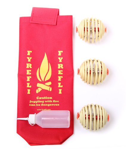3 Feuerbälle / Feuerball (Feuer Jonglierbälle) Firefly