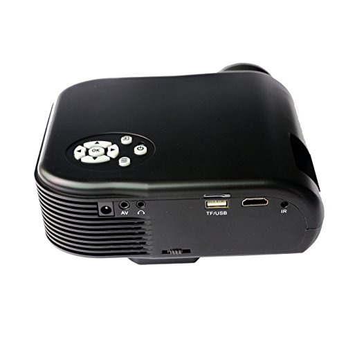 2018 New Home Projectors Theater Lcd 1080p Hd Multimedia: 2018 Projector (Warranty Included), XINDA LCD LED Mini