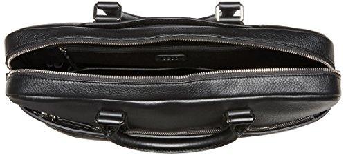 Ecco Herren Jos Laptop Bag Tasche, Schwarz (Black), 6x29x39 cm