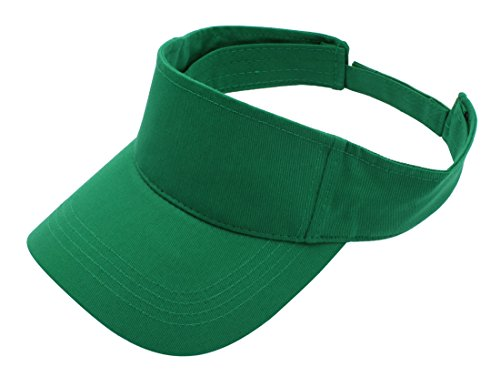 Premium Visor Cap By Top Level - Lightweight & Comfortable Unisex Sun Protector - Adjustable Velcro Strap - Stylish & Elegant Design For Everyone - Available In Many Different Trendy Colors (Tennis Merchandise)