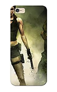 Fireingrass Case Cover For Iphone 6 Plus - Retailer Packaging Video Games Tomb Raider Lara Croft Widescreen Protective Case