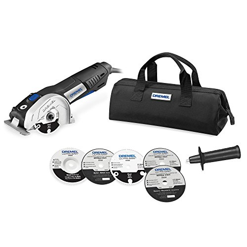 120v Circular Saw Kit - Dremel US40-03 Ultra-Saw Tool Kit with 5 Accessories and 1 Attachment
