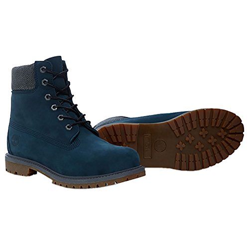 Premium 6in bottines Premium femme BLUE classiques 6 METALLIC in Timberland W Boot FTB T1wCqxna