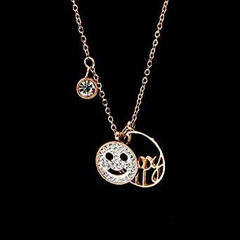 Amazon.com: Davitu Fashion Stainless Steel Love Crystal