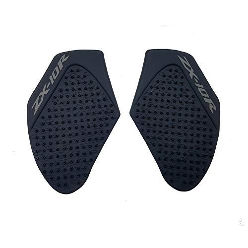 - Black Rubber 3D Dots Gas Fuel Tank Traction Pad Anti Side Slip Protector for Kawasaki Ninja ZX10R 2011-2014