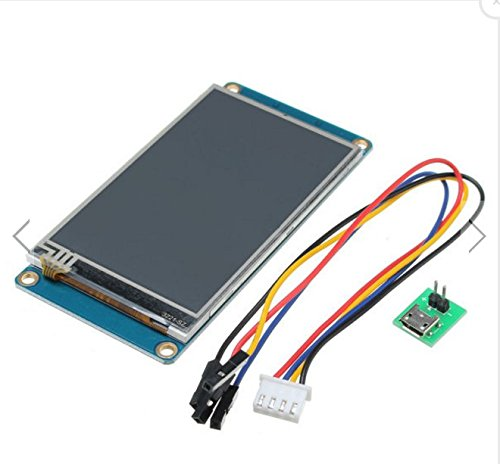 3.2 Inch Nextion HMI Intelligent Smart USART UART Serial Touch TFT LCD Screen Module For Raspberry Pi Arduino (Hmi Kit)