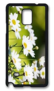 Adorable Daisies Background Hard Case Protective Shell Cell Phone Samsung Galaxy S5 I9600/G9006/G9008