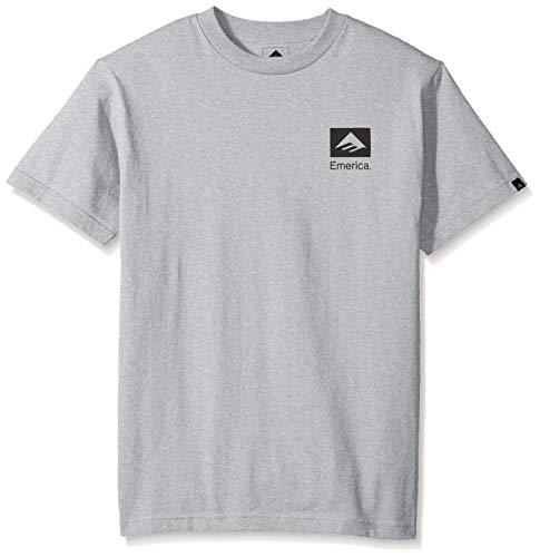 Emerica Men's Brand Combo, Grey/Black XL ()