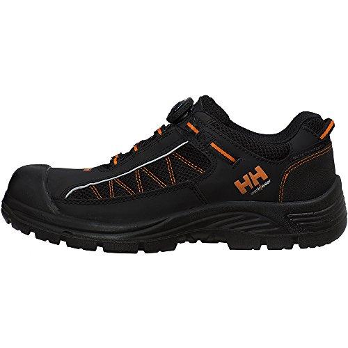 Helly Hansen Mens & Womens/Ladies Alna Mesh S3 Workwear Safety Shoes Black/Orange