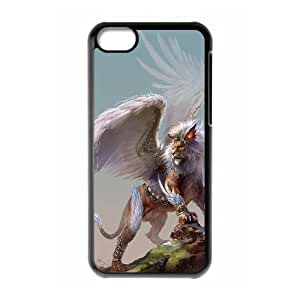 High Quality {YUXUAN-LARA CASE}Powerful Lion For Iphone 5c STYLE-1