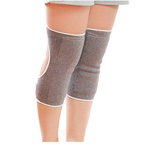 Atmungsaktives Bambuskohle Kniestütze Unterstützung Sleeve knee Kniewärmer arthritis öffnen-Knieschoner