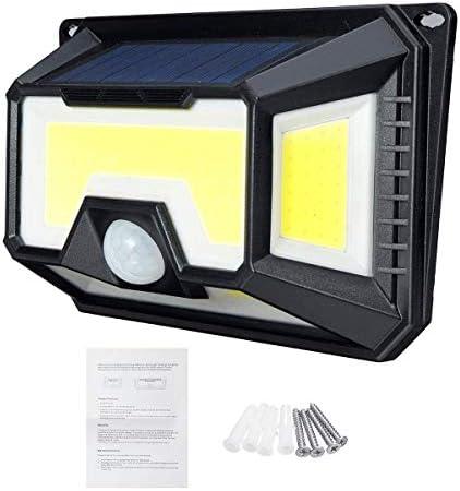 Garden Lighting Wall Light Garden Yard Lamp Outdoor Solar 154 LED Motion Sensor mei