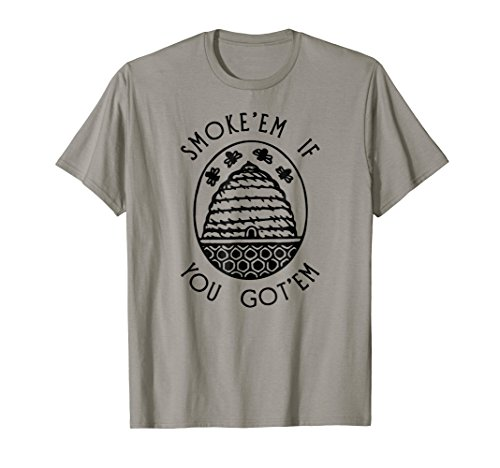 Funny Beekeeping Bee T Shirt, Smoke Them Honey Bees Tee Gift (Honey Clothes)