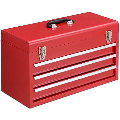 Box Storage Cabinet Garage Portable Tool Drawers Toolbox Chest Mechanic Organizer ()
