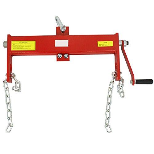 Cherry Picker Jack Parts : Homgarden engine hoist leveler ton lb capacity for