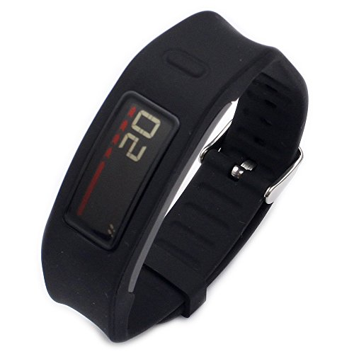 - Moretek Wireless Smart Exercise Bands Band for Garmin Vivofit Replacement Strap Bands Small and Lager Size (Black)