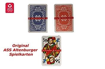 Romme Kartenspiel 55 Karten Spielkarten Rommekarten Canasta Bridge Skat Poker
