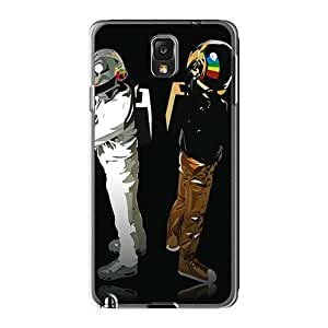 Protective Hard Phone Covers For Samsung Galaxy Note3 (oAW4542KEuo) Provide Private Custom High-definition Daft Punk Band Series