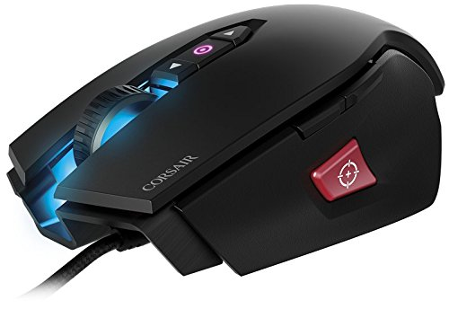 CORSAIR M65 Pro RGB - FPS Gaming Mouse - 12,000 DPI Optical Sensor - Adjustable DPI Sniper Button - Tunable Weights -  Black by Corsair (Image #1)