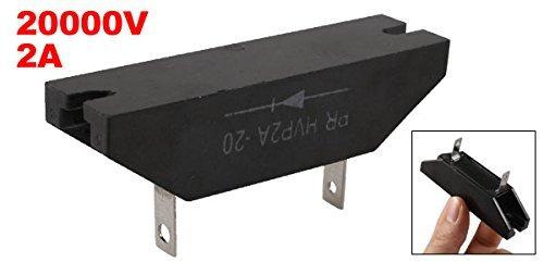 eDealMax PR-20 HVP2A monofásico de Alto voltaje del diodo rectificador, 20KV 2A