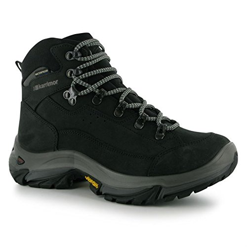 Boots Ladies Walking Brecon Karrimor Lace Up Charcoal Womens Trekking Hiking KSB wH64HXq