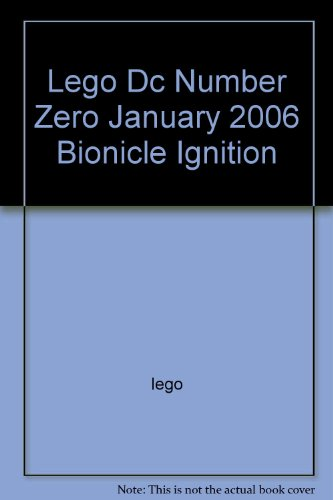 Lego Dc Number Zero January 2006 Bionicle ()
