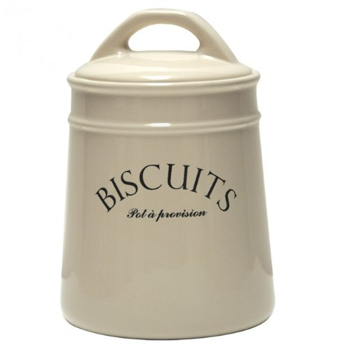 "French-inspired ""Biscuits"" Cookie Jar Canister"