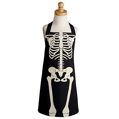 DII Halloween Skeleto Children Apron, 17x21