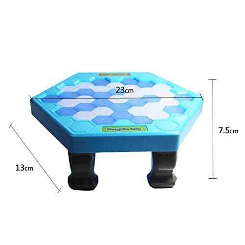 KIDSFUN Penguin Trap Ice breaker Kids Puzzle Table Knock Game Save | Penguin on Ice Block Family Funny Game