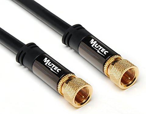MutecPower 2m Sat Cable coaxial de la Antena de Conector F en el ...